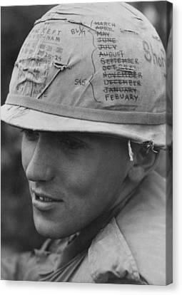 Tntar Canvas Print - Vietnam War. A Us Army Sky Trooper by Everett
