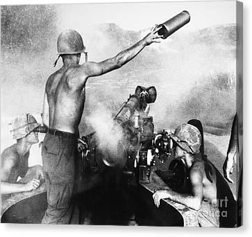 Vietnam War: Artillery Canvas Print by Granger