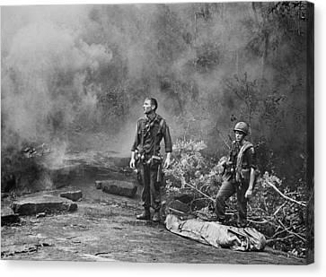 Tntar Canvas Print - Vietnam War. Two American Gis Standing by Everett