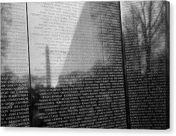 Canvas Print - Vietnam War Veterans Memorial by Steven Ralser