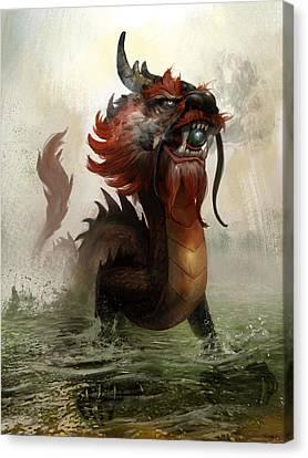 Vietnamese Dragon Canvas Print