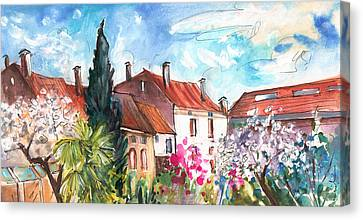 View From The Trefle Window In Albi Canvas Print