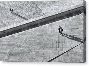 View From Above - Oslo Opera House Canvas Print