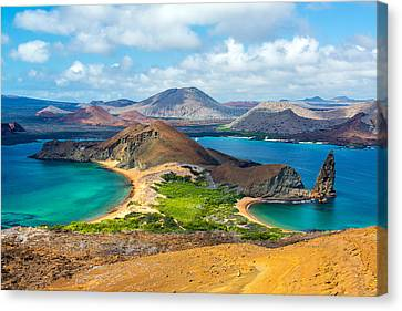 View From Bartolome Island Canvas Print by Jess Kraft