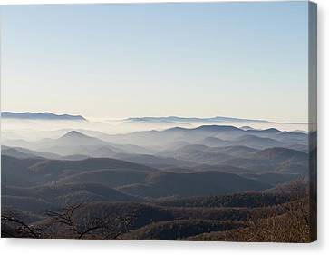 View From Blood Mountain Canvas Print