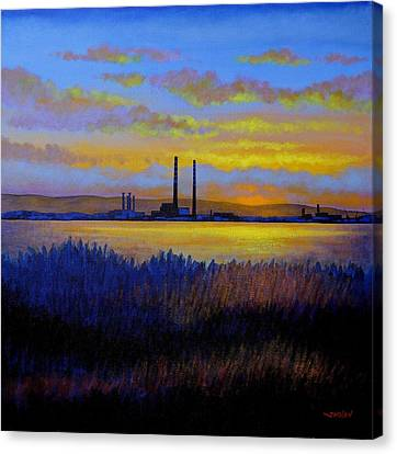 Poster Board Canvas Print - View From Clontarf - Dublin by John  Nolan