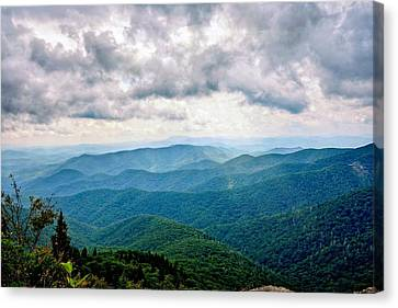 View From Devil's Courthouse Canvas Print