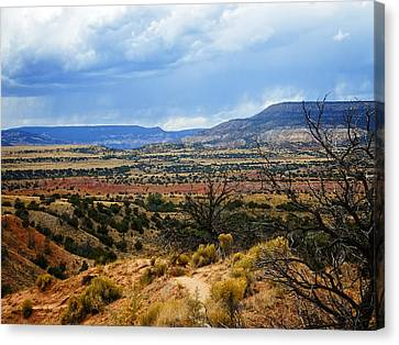 Canvas Print featuring the photograph View From Ghost Ranch, Nm by Kurt Van Wagner