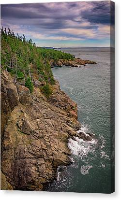 Quoddy Canvas Print - View From Gulliver's Hole by Rick Berk