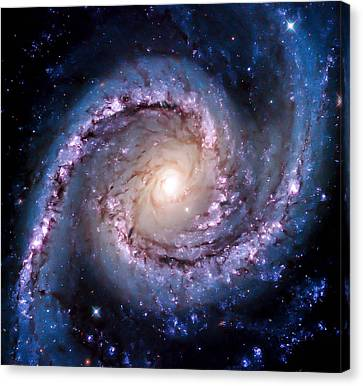 View From Hubble Canvas Print by Britten Adams