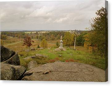 View From Little Round Top 2 Canvas Print