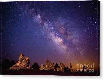 View From Mars Canvas Print by Jamie Pham