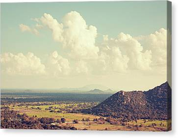 View From Mihintale Canvas Print by Joseph Westrupp