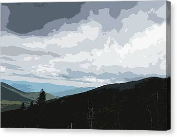 View From Mount Washington II Canvas Print by Suzanne Gaff