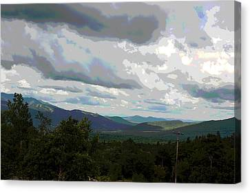 View From Mount Washington IIi Canvas Print by Suzanne Gaff