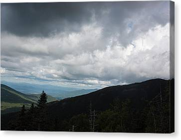 View From Mount Washington  Canvas Print by Suzanne Gaff