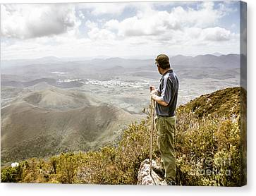Terrain Canvas Print - View From Mt Zeehan Tasmania by Jorgo Photography - Wall Art Gallery