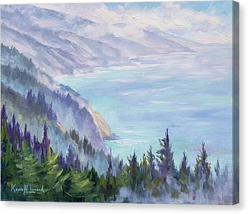 View From Nepenthe Canvas Print