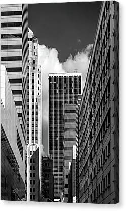 Canvas Print - View From North Hudson Street by James Barber
