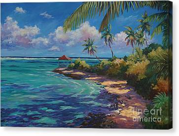 The Edge Canvas Print - View From Over The Edge by John Clark