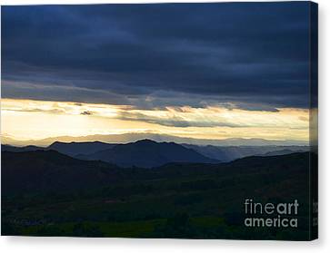 View From Palomar 9633 Canvas Print
