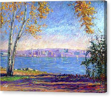 View From Presque Isle Canvas Print by Michael Camp