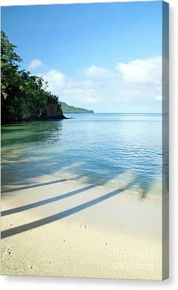 View From Qamea Island, Fiji Canvas Print