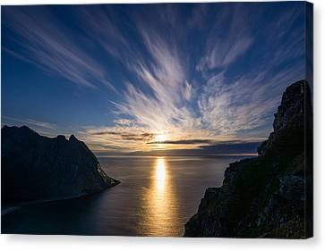 View From Ryten Canvas Print