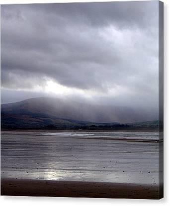 View From Strandhill Beachsligo Ireland Canvas Print by Amy Williams
