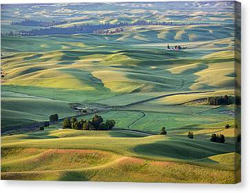 View From Sunrise Canvas Print by Jon Glaser