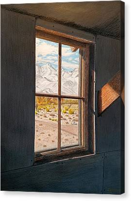 View From The Barracks Canvas Print