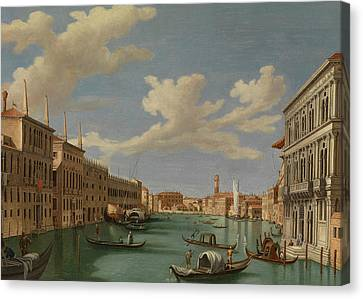 View From The Ca' Calergi Canvas Print by Vincenzo Chilone