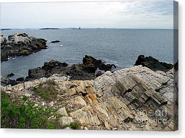 View From The Head Canvas Print