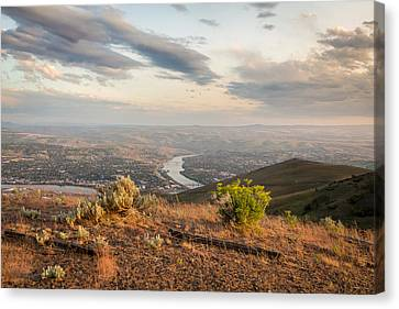 View From The Hill Canvas Print