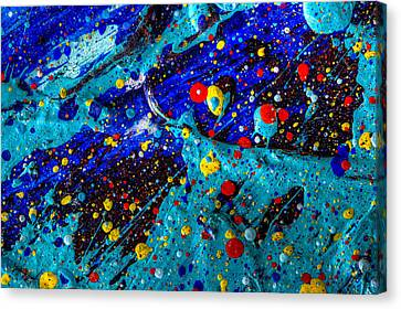 View From The Moon Canvas Print by Sean Corcoran