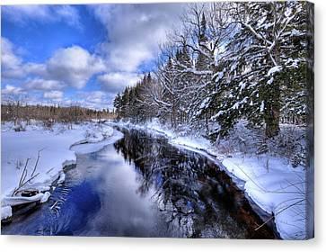View From The North Street Bridge Canvas Print by David Patterson