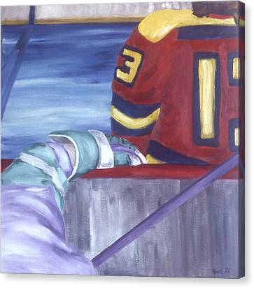 View From The  Players Bench Canvas Print by Ken Yackel