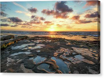 View From The Reef Canvas Print by Joseph S Giacalone
