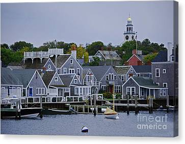 View From The Water Canvas Print