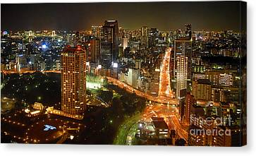 View From Tokyo Tower Canvas Print