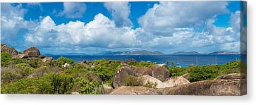 View From Top Of The Baths On Virgin Canvas Print by Panoramic Images