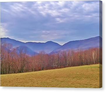 View From Von Trapps Lodge 2 Canvas Print by Bill Cannon