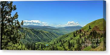 View From White Bird Hill Canvas Print