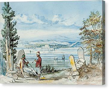 View In The Dardanells Canvas Print