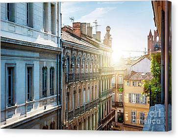 Sunflare Canvas Print - View In Toulouse by Elena Elisseeva