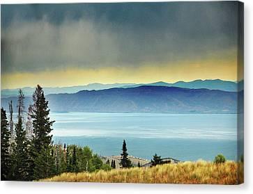 View Of Bear Lake Canvas Print