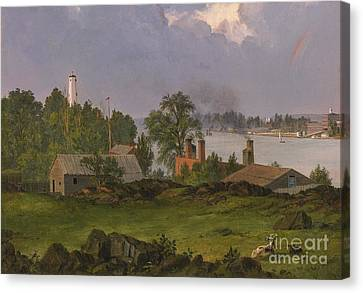 View Of Blackwell Canvas Print by MotionAge Designs