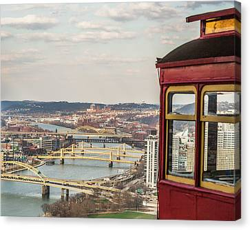 Canvas Print - View From Duquesne Incline by Eclectic Art Photos