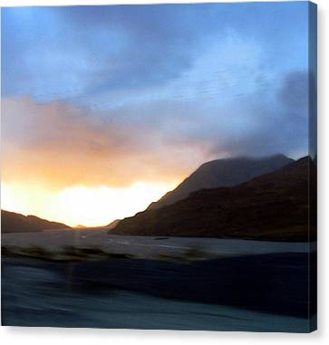 view of Connamara Canvas Print by Amy Williams