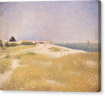 View Of Fort Samson Canvas Print by Georges Pierre Seurat
